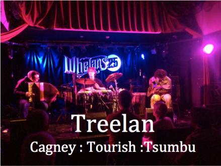 Treelan: Martin Tourish, Eamonn Cagney, Niwel Tsumbu